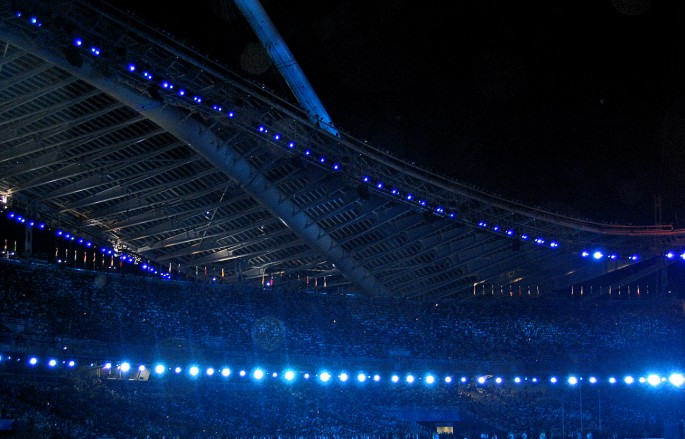 Picture of Olympic Stadium during Closing Ceremony