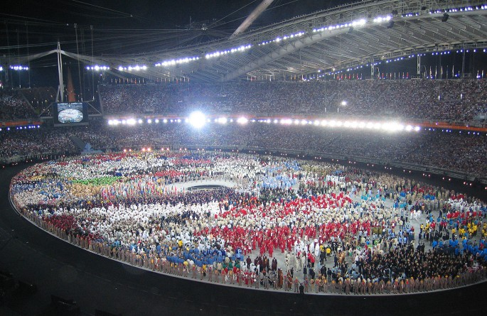 Picture of Opening Ceremony