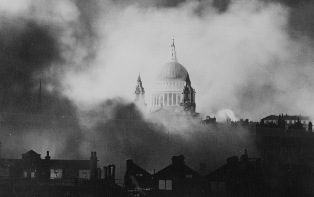 Picture of London during World War II