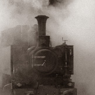 Picture of a steam engine